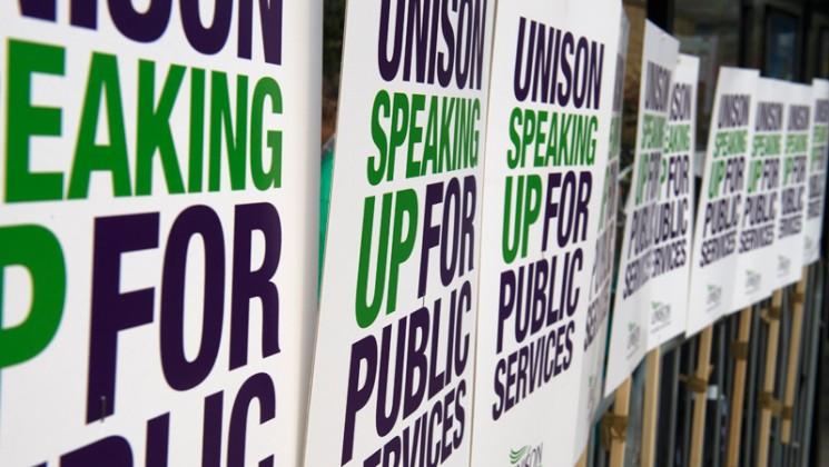 unison speaking up for publis services photograph