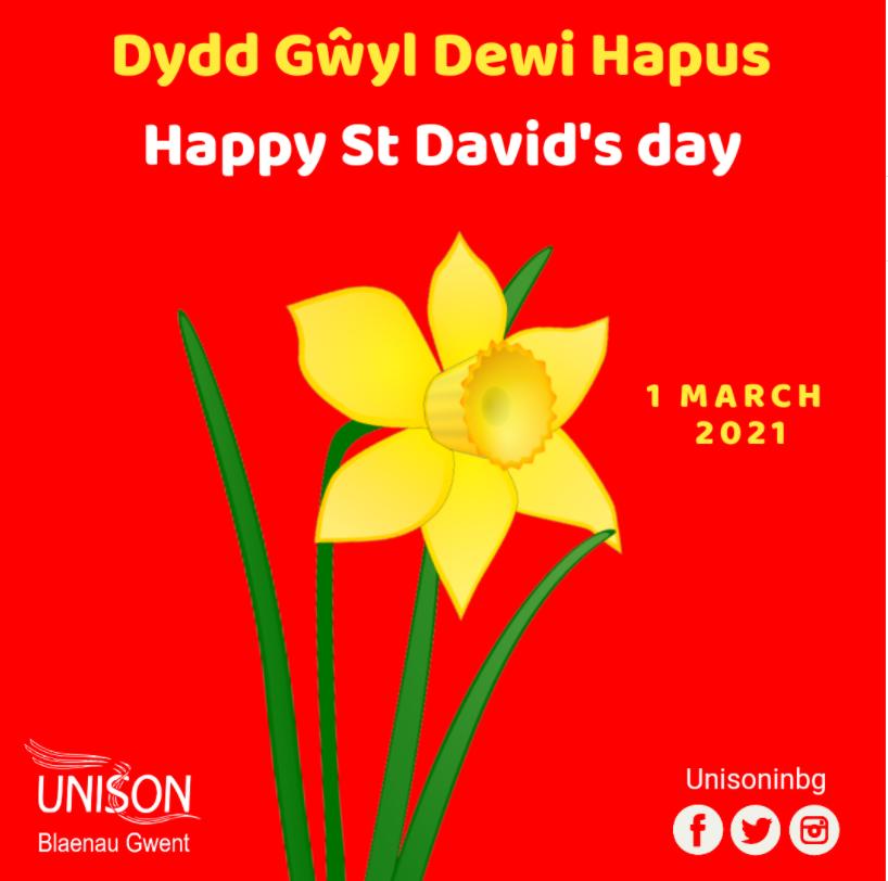 Happy St Davids Day