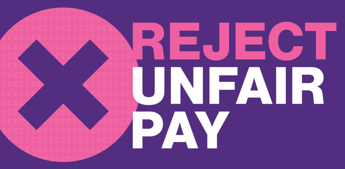 Reject Unfair Pay