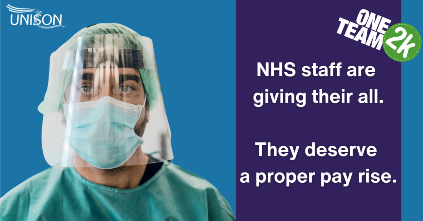 NHS Pay Rise