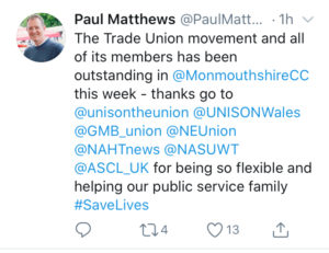 Paul Matthews Tweet
