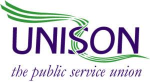Unison the public service union logo